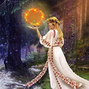 Славянская богиня Лада богородица
